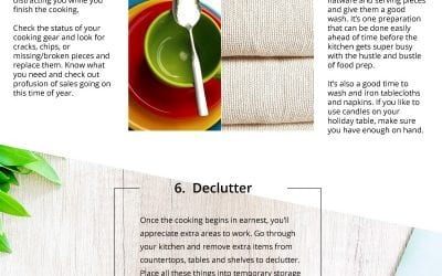 How to Prepare your Kitchen for the Holidays