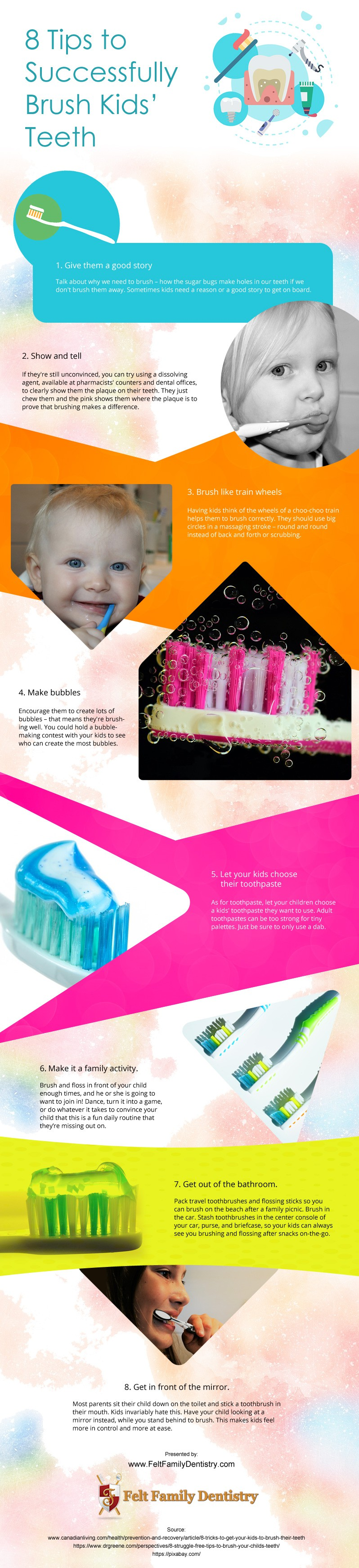 How-to-Get-Toddler-to-Brush-Teeth Infographic