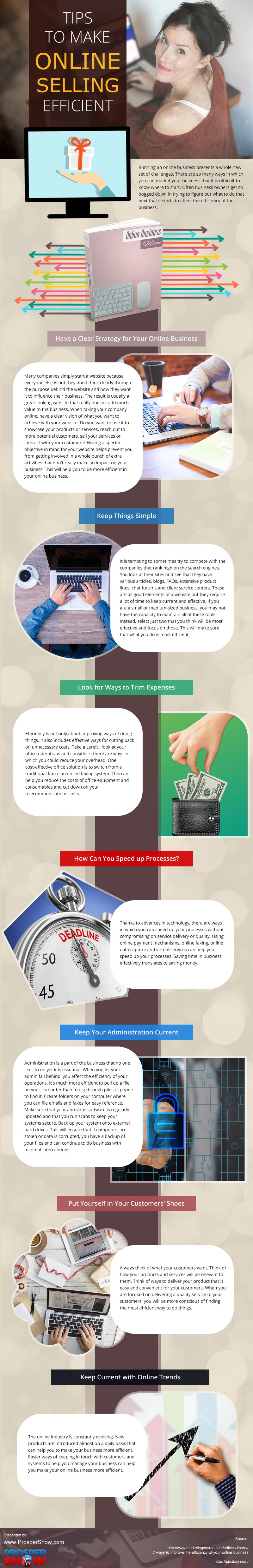 Tips-to-Make-Online-Selling-Efficient Infographic