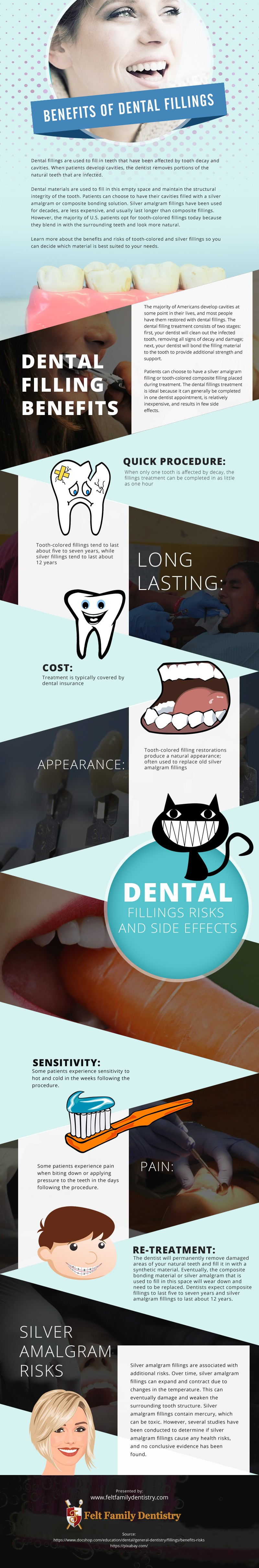 Benefits-of-Dental-Filling Infographic