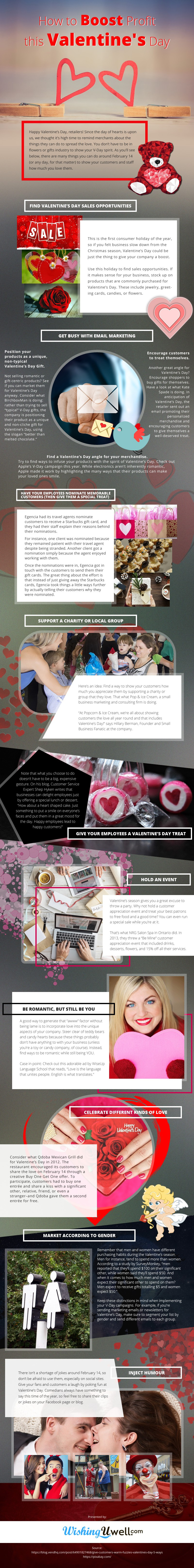 How-to-Boost-Profit-this-Valentines-Day Infographic