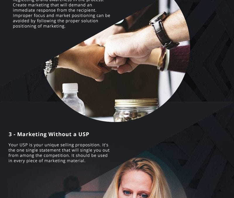 5 Common Mistakes Made in Marketing