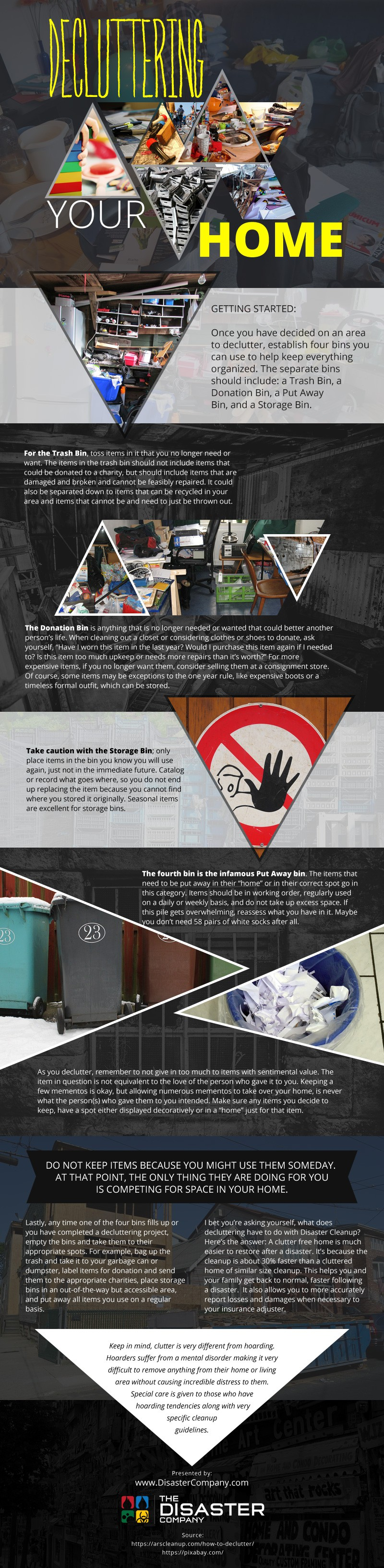 Decluttering-your-Home Infographic
