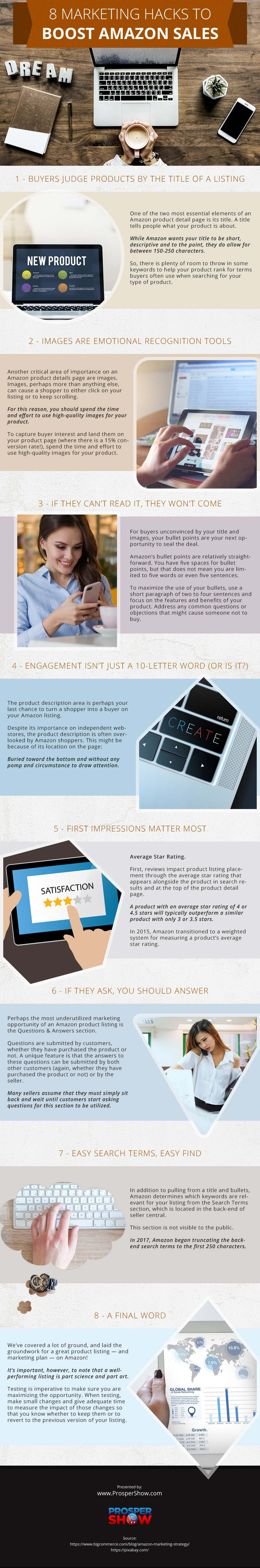 Marketing-Hacks-to-Boost-Sales Infographic