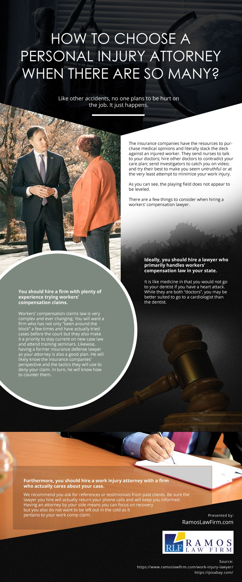 How-to-Choose-an-Attorney-when-There-are-So-Many Infographic