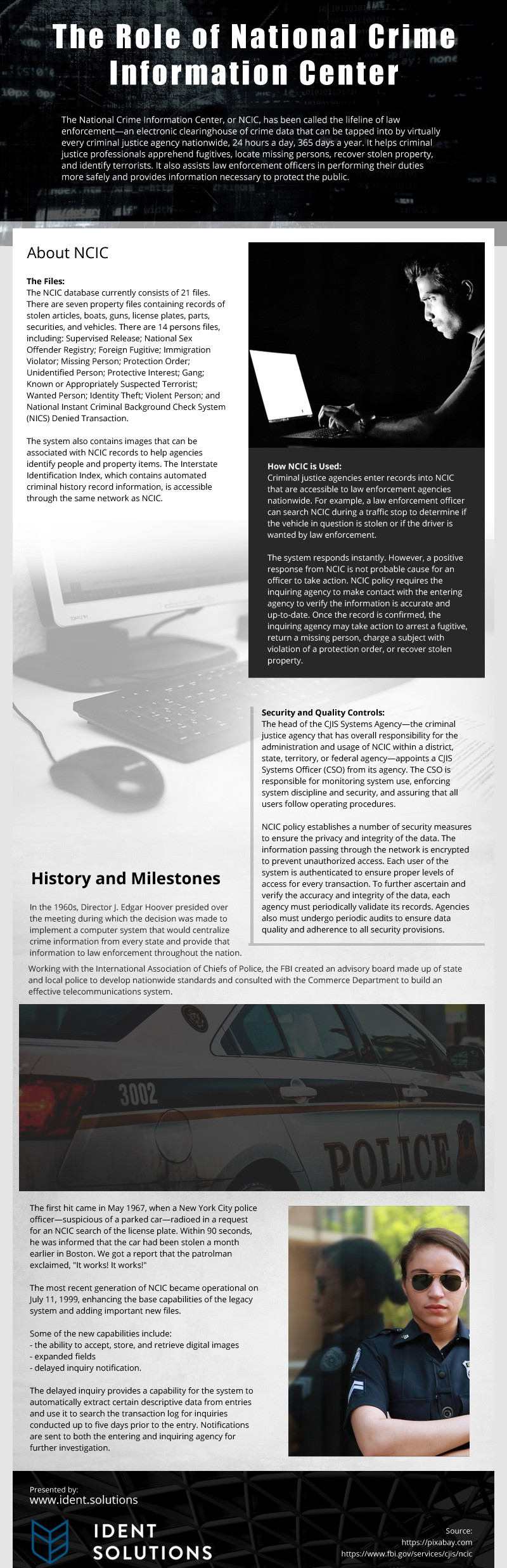 The-Role-of-National-Crime-Information-Center Infographic