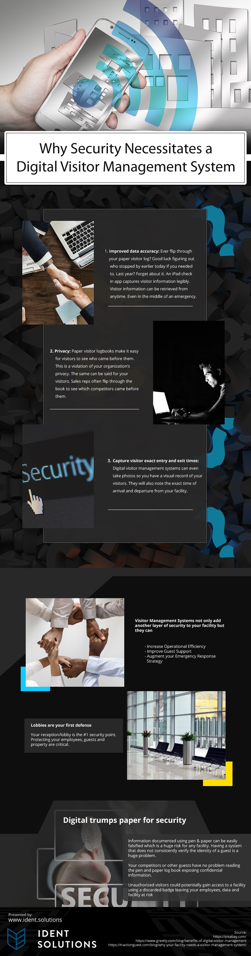 Why-Security's-Necessitates-a-Digital-Visitor-Management-System Infographic
