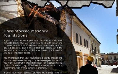 Earthquake Proofing your Home