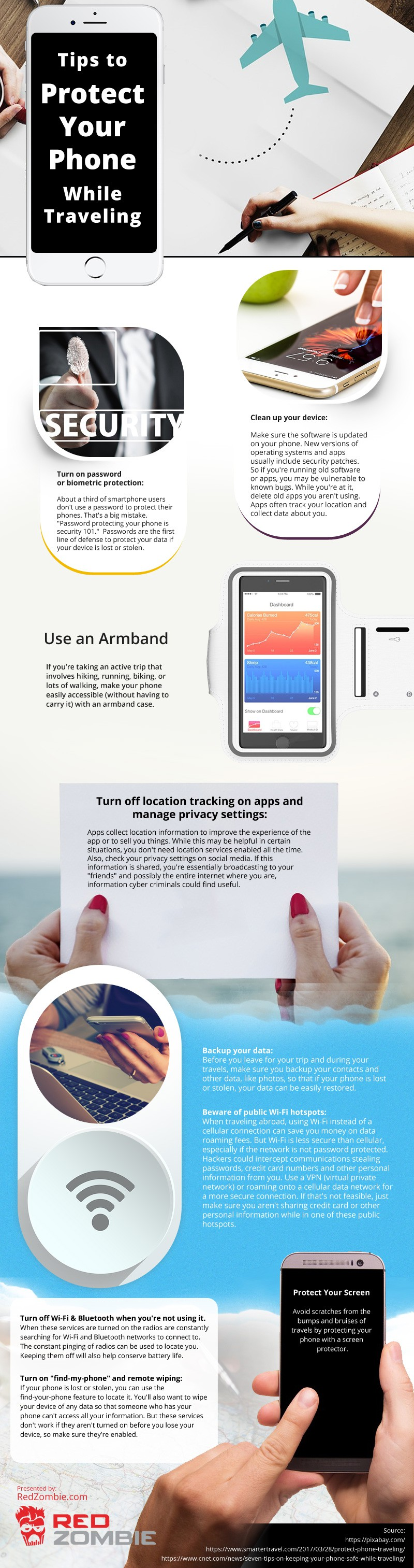 Tips-to-Protect-Your-Phone-While-Traveling Infographic