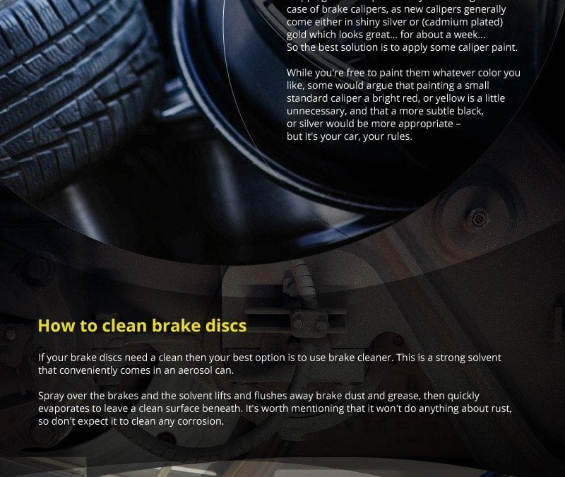 Tips to Keep Your Brakes in Perfect Condition