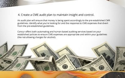 CME Travel and Expense Management Tips