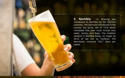 Countries with a lot of Beer Drinkers