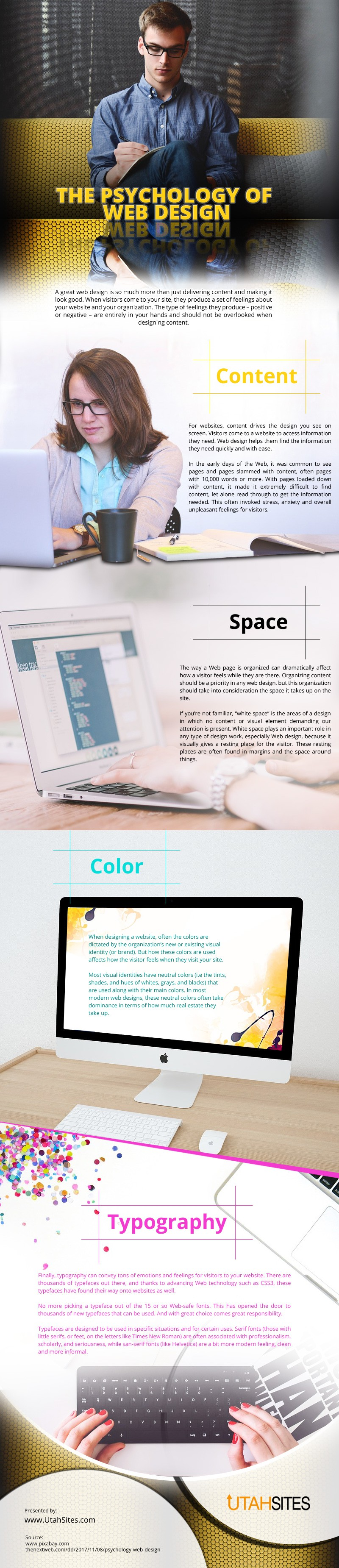 The-Psychology-of-Web-Design Infographic