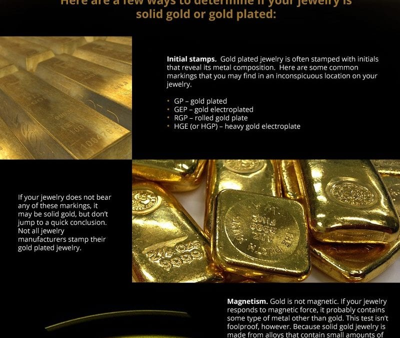 Tips to Distinguish Solid Gold from Gold Plated