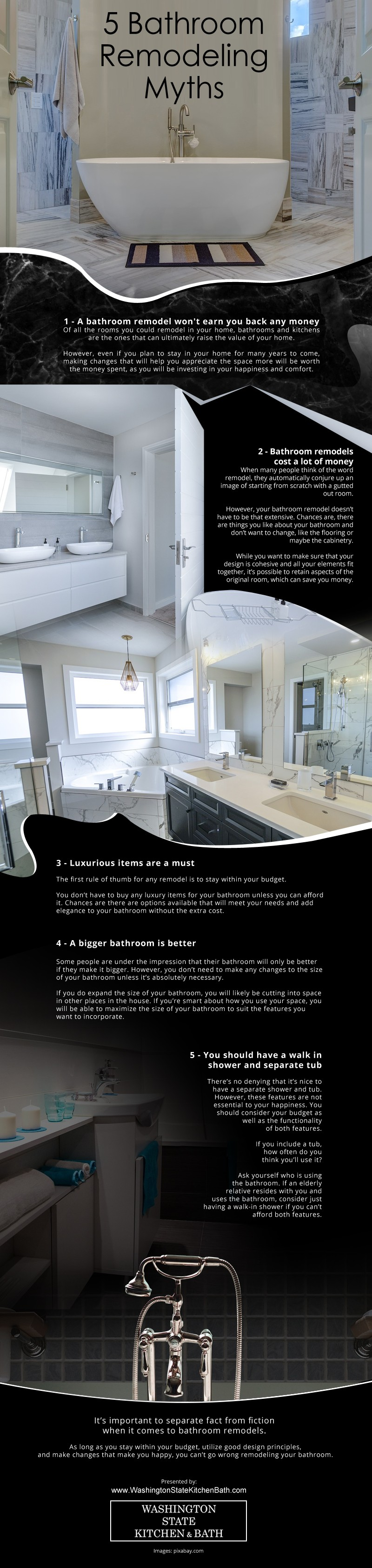 5 Bathroom Remodeling Myths