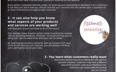 5 Reasons Feedback and Reviews Are Important for Online Sellers