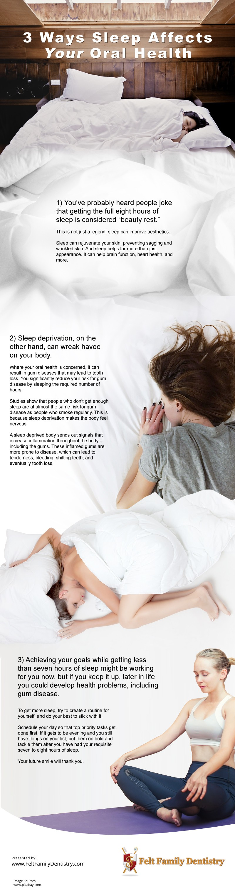 3 Ways Sleep Affects Your Oral Health Infographic