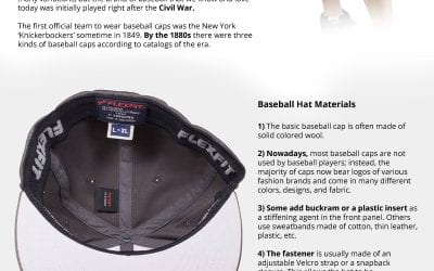 9 Facts About How Baseball Hats are Made