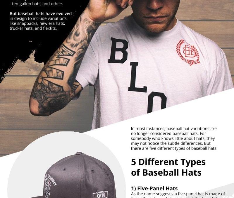 5 Types of Baseball Hats