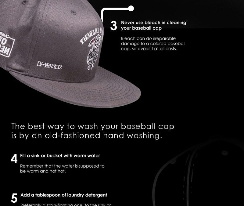10 Tips for Washing Your Baseball Caps