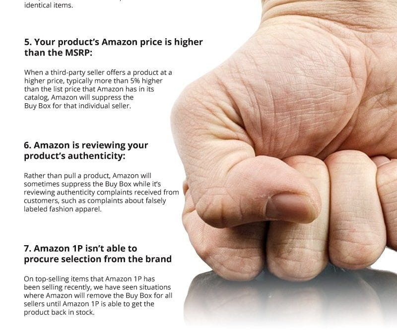 11 Reasons Amazon Sellers Lose the Buy Box
