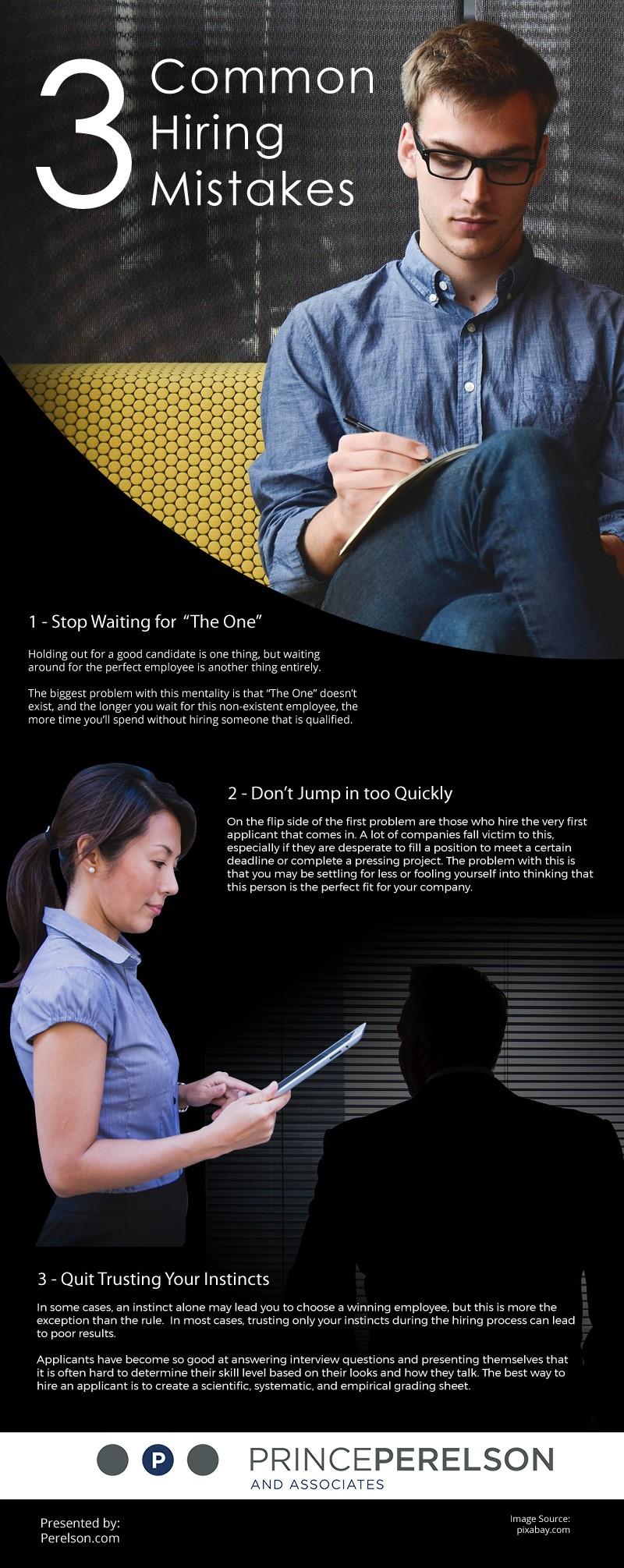 3 Common Hiring Mistakes