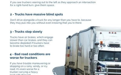 7 Tips to Drive Safe Near Big Rigs