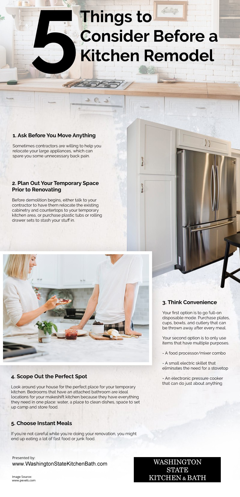 5 Things to Consider Before a Kitchen Remodel