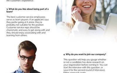 5 Questions to Ask Customer Service Candidates