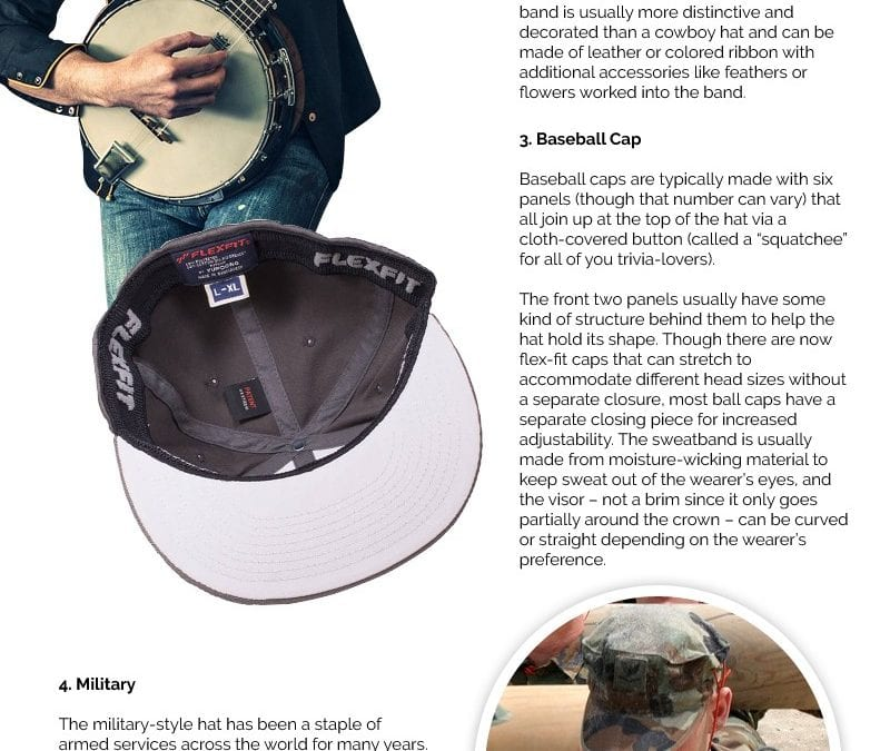 6 Different Types of Hats and Why You Should Care