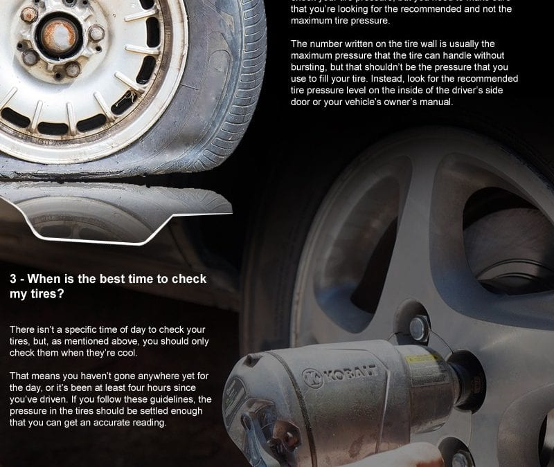 6 Reasons Tire Pressure Matters
