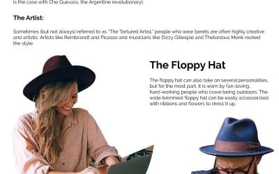 11 Hat Styles And What They Say About Your Personality
