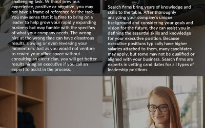 4 Ways Startups Benefit from Hiring an Executive Search Firm
